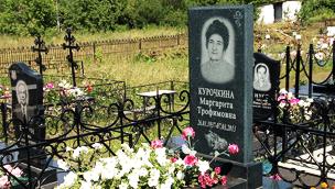 Памятник из цветного гранита Малоярославец Эконом памятник Купола с профильной резкой Севск